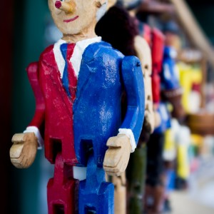 Aren't all politicians puppets?