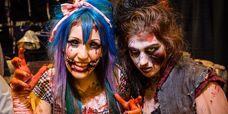 Girl Zombies at Montreal ComicCon