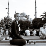 Candid shot taken in Istanbul in July 2011