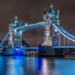 A long-duration exposure of the London landmark.