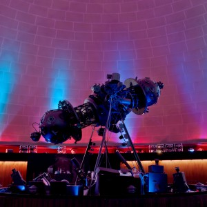 Taken two days before the Old Dow Planetarium in Montreal closed in October 2011. This planetarium star projector is now a museum piece.