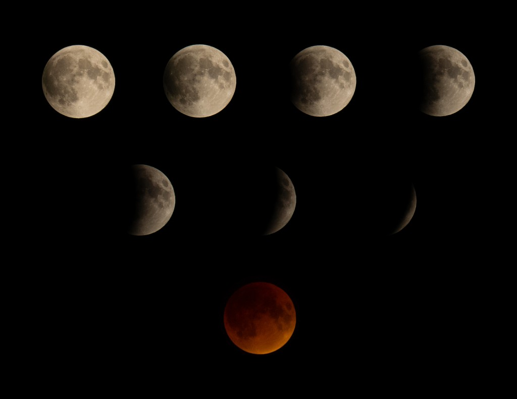 Composite of several shots taken over 80 minutes.