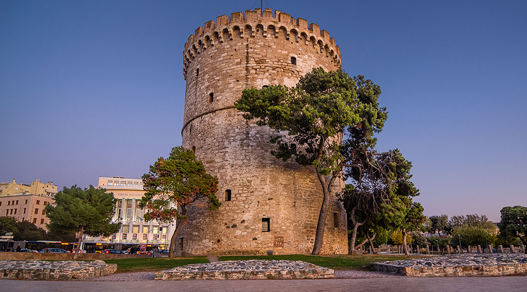 The White Tower of Thessalonikii