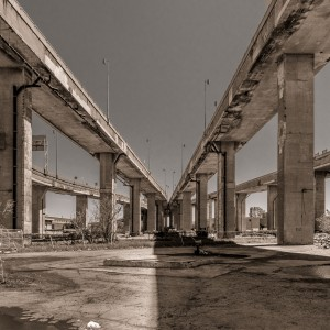 Remnants of the Turcot