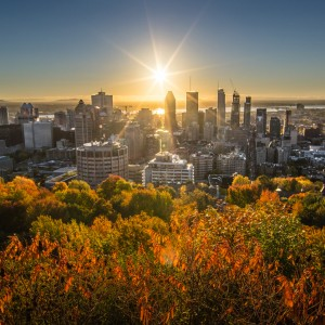 Sunrise from Mount Royal
