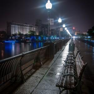 Silo No.5 at Night